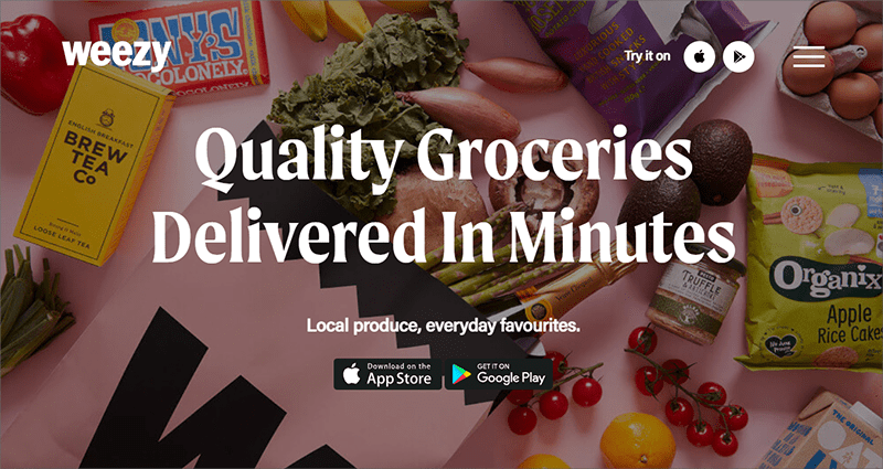 Grocery Delivery Startups - Weezy